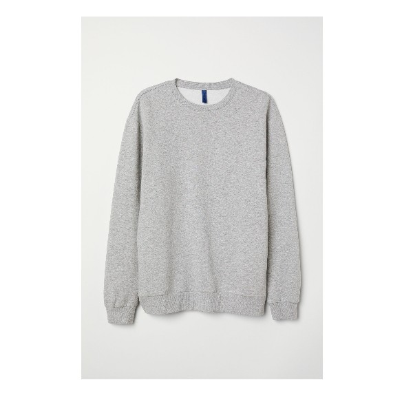Grey Sweatshirts Round Neck for Men and Women