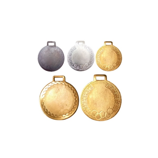 Olympic-Medal-Metal-Gold-Silver-and-Bronze Set of 3 Pcs Size 2.5