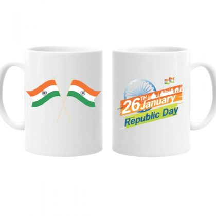 Ceramic Coffee Mug Printed Republic Day Mug